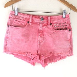Kendall & Kylie Distressed Jean Shorts